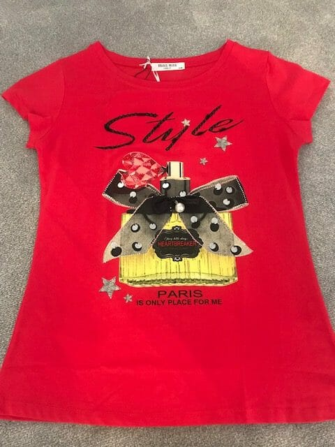 Red Style Logo T-Shirt