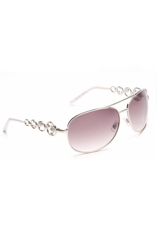 Silver Frame Madison Sunglasses