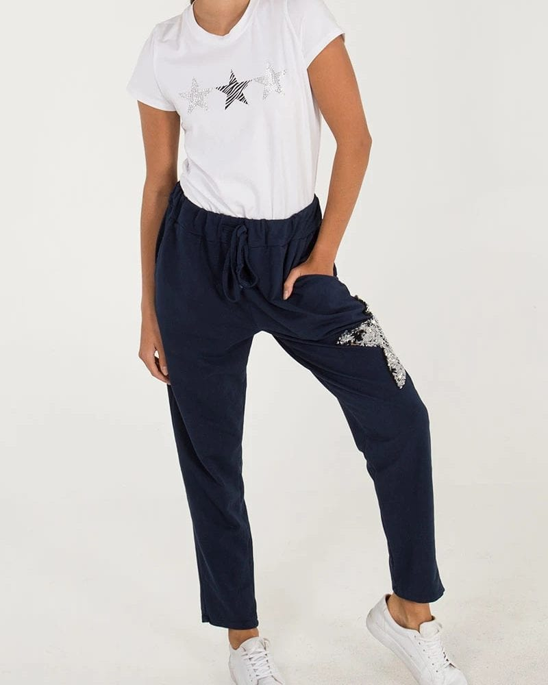 Navy-Sequin-Star-Joggers