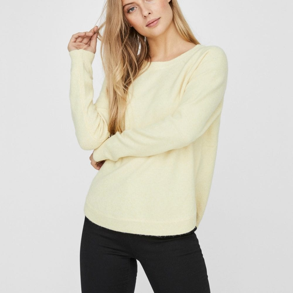 Pale Yellow Jumper
