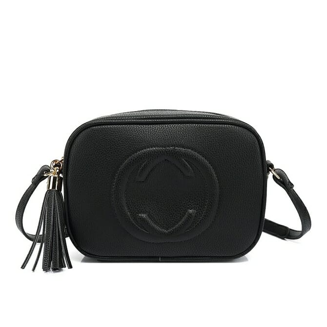 Black CC Crossbody Bag